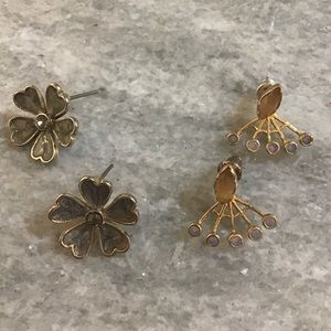 Pair of Anthropologie Stud Earrings